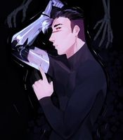 them skelly hands gonna fondle his hair by yiawe