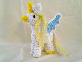 February Unicorn Hippogryph by hollyann