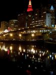 Cleveland at Night by coffeenoir