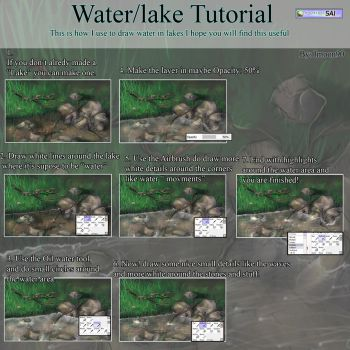 Water in lake tutorial by Imoon90