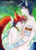 Bishi Boys ACEO by Eye-X-catcher
