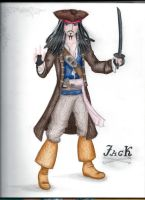 Jack Sparrow by michelleable
