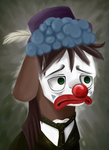 Trouble Shoes - Sad Clown by Lucky-Jacky