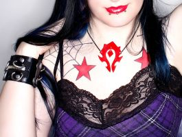 World of Warcraft Necklace by xLilithScreamx
