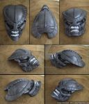 Alienated Bio Predator Mask by RaptorArts