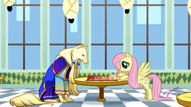 A Friendly(?) Game of Chess by ArofaTamahn
