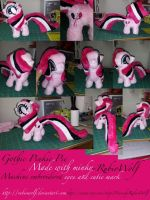 Gothic Pinkie Pie Plush *NIGHTMARE NIGHT CONTEST* by RubioWolf