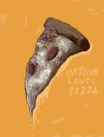Pizza Rules. by sugarpolyp