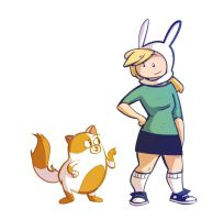 Cake n' Fionna by ComickerGirl