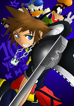 10 Years Later -Kingdom Hearts 2- by XavierScribbles