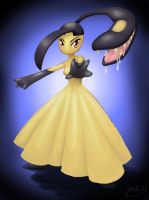 Anthro Mawile by Gardi