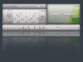 New Cool Winamp Skin by sandhuharjeetsingh