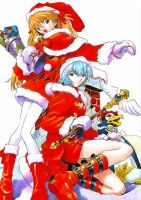 Merry Evangelion by Fighter-chan
