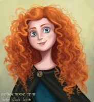 Merida by robotnixie