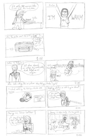 Hourly Comic Day 2013 part 2