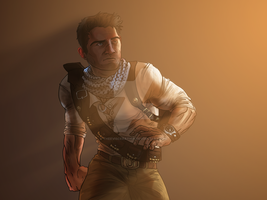 Nathan Drake by TheEvisceration