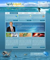 TotallyLiquid.biz site plan by webgraphix