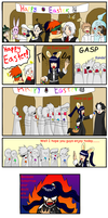 Happy Easter: DGM by DairuAnubis