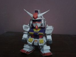 SD RX-78-2 ver Ka papercraft by daigospencer