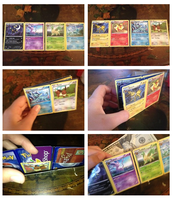 Pokemon Card Wallet by hithereflamingo