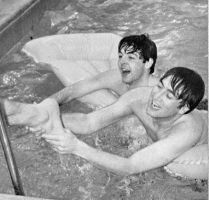 They seem to enjoy swimming by BeatlesGirl909