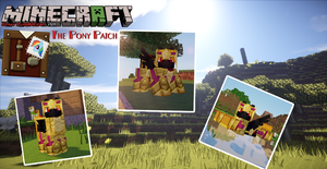 Sphax PureBDCraft The Pony Patch Project:Gold by Destro-the-Dragon