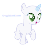 MLP Base #22 Oh look. A filly base. by S-apphiireeBases
