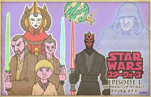 The Phantom Menace by Hartter