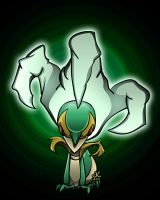 495. Snivy by sobeyondthis