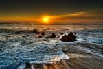San Francisco, Pacific sunset by alierturk