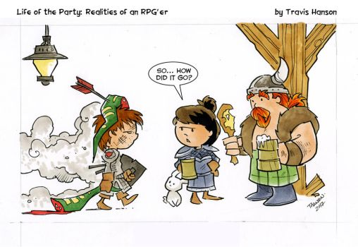 Quest Questions - RPG Comic by travisJhanson