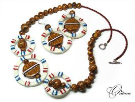 African heritage 2 by OrionaJewelry