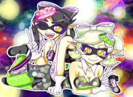 Squid Sisters by Danielle-chan
