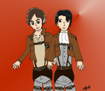 Secret Santa: Attack On Titan by HinataFox790