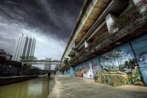 HDR - Graffiti Attack KL by mayonzz