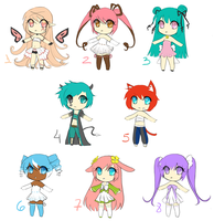 Big Adoptables Batch 5 (CLOSED) POINTS OR CASH by koyame