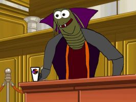 Ziltoid The Omniscient - Prosecutor At Law by Akriloth2160