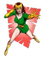 Marvel Girl color by hawk5