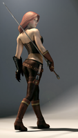 Guardians: Loreena ingame character by doms3d