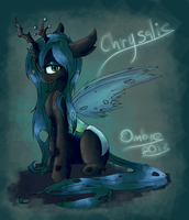 queen chrysalis by akiiri