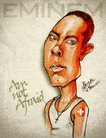 Eminem - Caricature by libran005