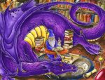 The Mage and the Dragon by Merinid-DE