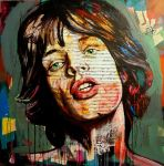 Mick Jagger by Natmir