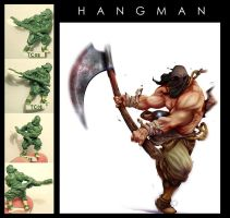 -Hangman- Art and Miniature by gureiduson