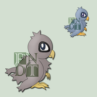 Fakemon EAGLEDE by psychonyxdorotheos