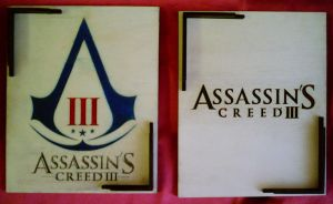 Assassains Creed WoodBox Inside by WoodBoxEdition