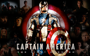 Captain America Wallpaper by xxkenziex