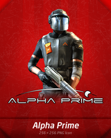 Alpha Prime Dock Icon by A-Gr