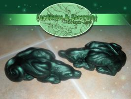 Eucalyptus and Spearmint Soap by neondragon