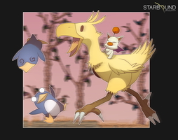 Starbound - Chocobo Mod by Dragonith